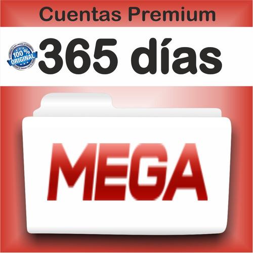 cuentas premium mega x 365 dias (12 meses) 1 año