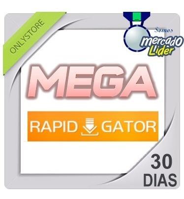 cuentas premium mega y rapidgator 30 dias 1 mes oficial