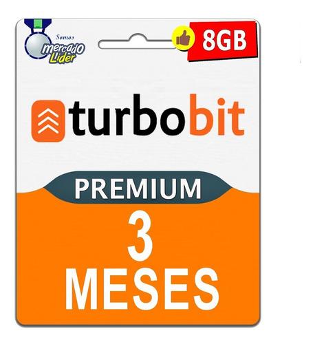 cuentas premium turbobit 90 dias 3 meses oficial garantia