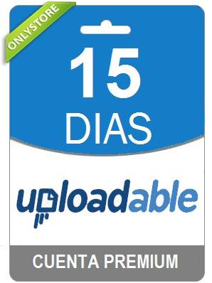 cuentas premium uploadable 15 dias - oficial 100% original