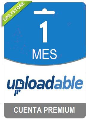 cuentas premium uploadable 30 dias - oficial 100% original