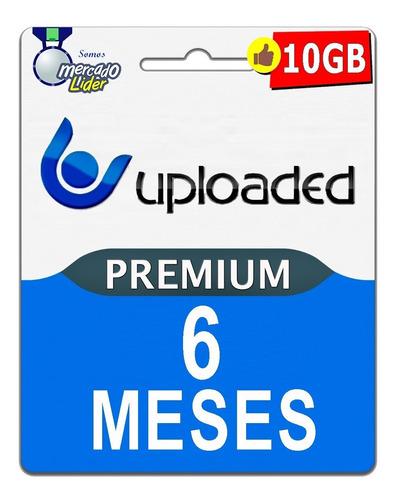 cuentas premium uploaded 180 dias 6 meses envio rapido