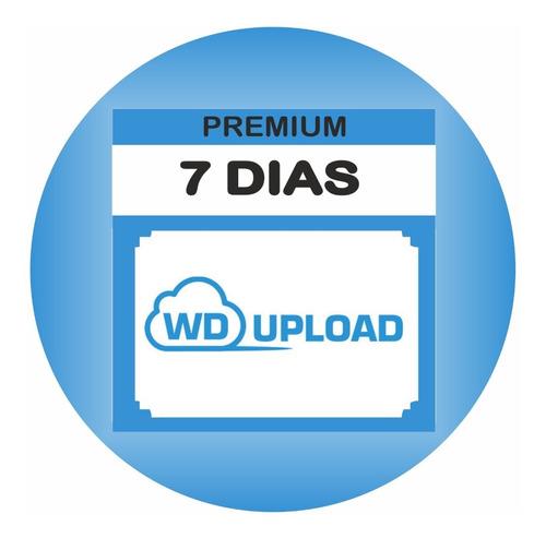 cuentas premium wdupload 7 dias - 8gb diarios