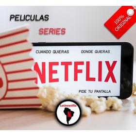 Cuente Neflix Original   Premium   Ultra Hd 4k   Garantizada
