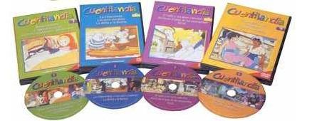 cuentilandia 1vol + 4 dvd's  ed. planeta