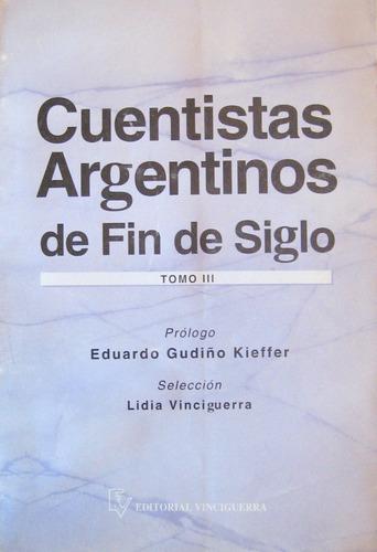 cuentistas argentinos fin de siglo tomo 3, benitez / otros,