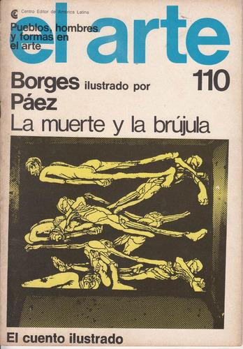 cuento de jorge luis borges ilustrado por roberto paez 1977