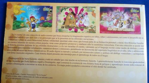 cuento infantil  la mata de los centavos  39pp libro+cd