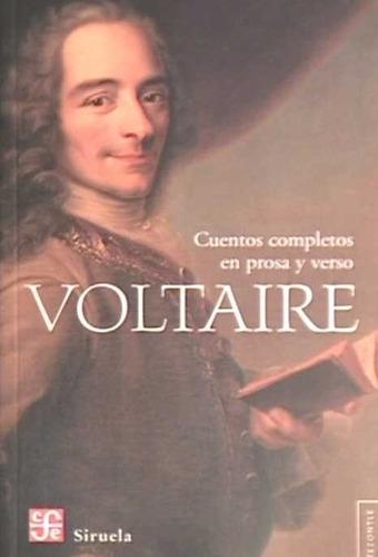 cuentos completos en prosa y verso / voltaire (envíos)