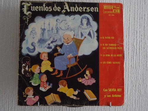 cuentos de andersen - silvia rey y sus artistas