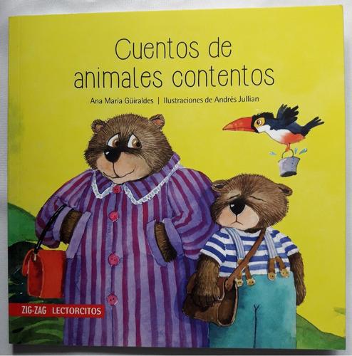 cuentos de animales contentos - colecc lectorcitos zig zag