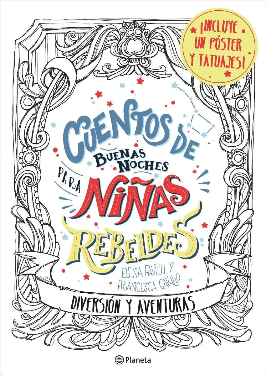 Cuentos De Buenas Noches Para Niñas Rebeldes - Para Colorear - $ 370 ...