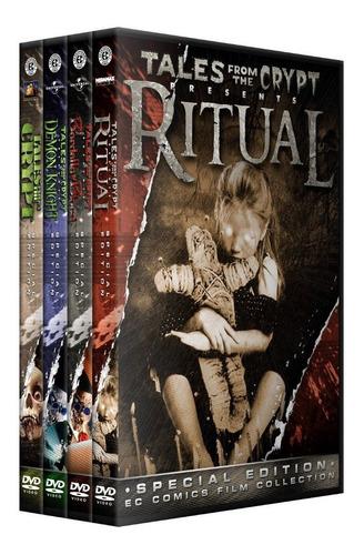 cuentos de la cripta coleccion en dvd peliculas pack