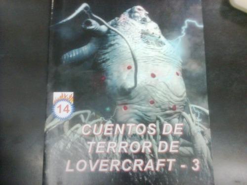 cuentos de terror de lovercraft varios tomos