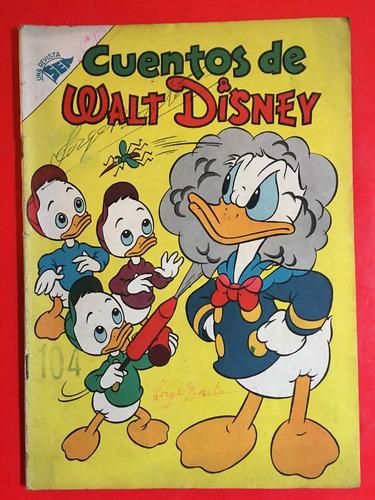 cuentos de walt disney, 104, 1956, 32 pag, sea novaro
