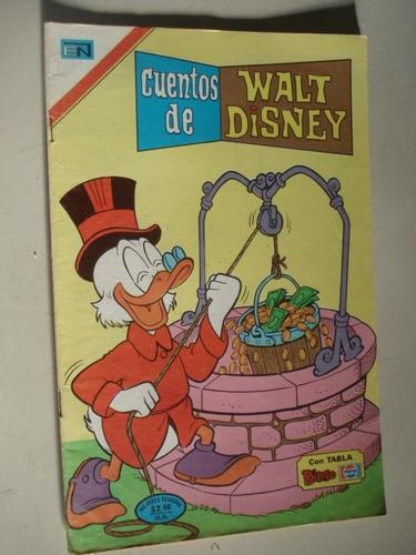cuentos de walt disney, editorial novaro, numero 593 tio ric