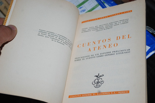 cuentos del ateneo