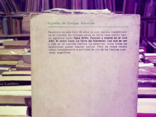 cuentos enrique wernicke 1ª edicion 1968 eshop el escondite