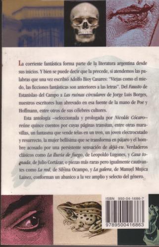 cuentos fantasticos argentinos  - nicolas cocaro