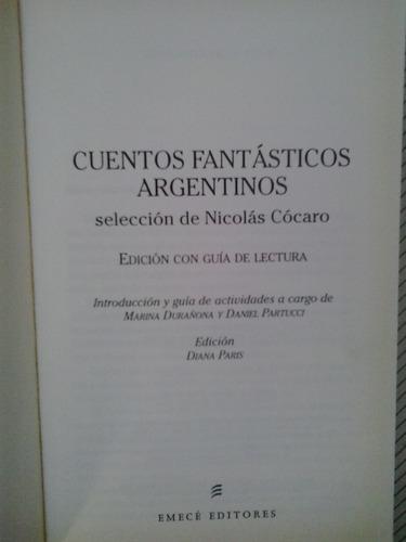 cuentos fantásticos argentinos - selección nicolás cócaro