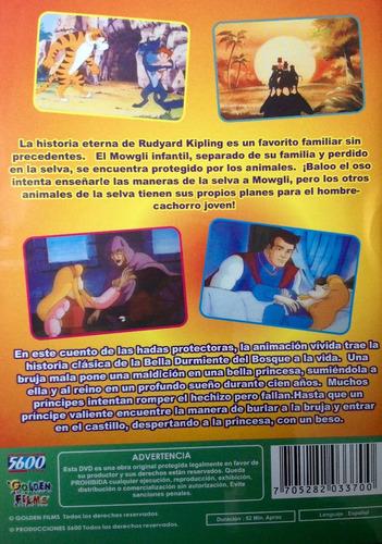 cuentos infantiles  animados el libro de la selva / la bella