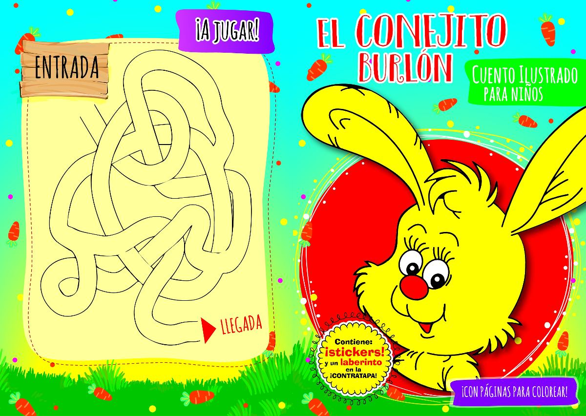 Cuentos Infantiles Ilustrados A Color Con Sticker Por Mayor - $ 25 ...
