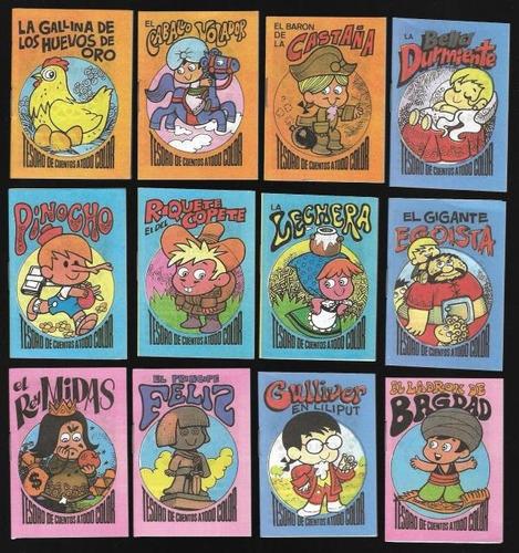 cuentos infantiles. tesoro de cuentos a todo color