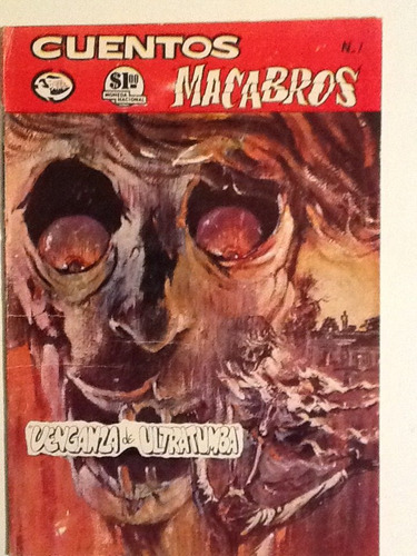 cuentos macabros num. 1 editorial joma año 1967