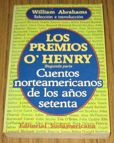 cuentos norteamericanos años setenta  o´henry varios autores
