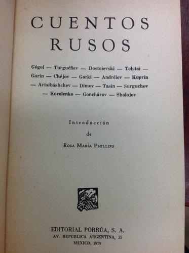 cuentos rusos de varios autores