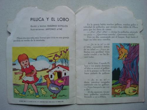 cuentos troquelados toray - piluca y el lobo - ayné sotillos