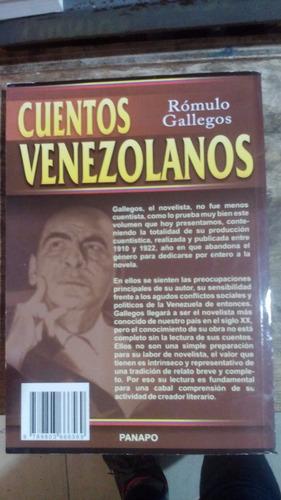 cuentos venezolanos. rómulo gallegos.