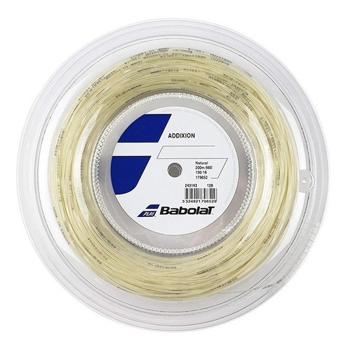 cuerda babolat addixion 200m natural 1.25