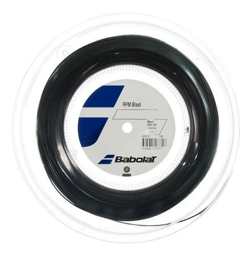 cuerda babolat rpm blast 200m negro 1.30