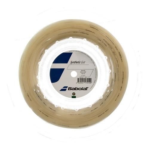 cuerda babolat synthetic gut 200m natural 130