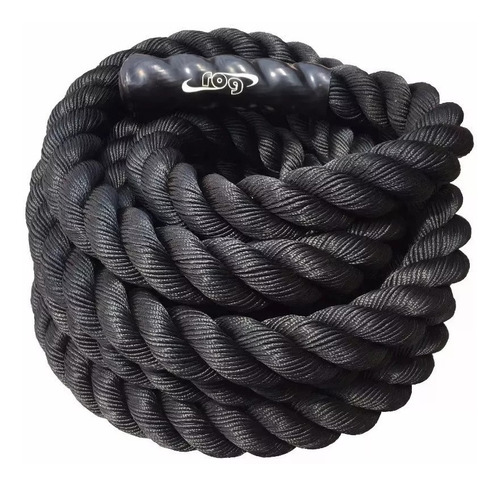 cuerda crossfit rog - funcional battle rope 50 mm x 10 mt