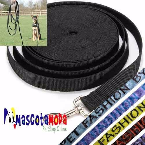 cuerda de adiestramiento de 10 metros para perro
