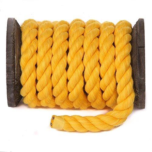 cuerda de algodón retorcido natural por fms ravenox | ( oro
