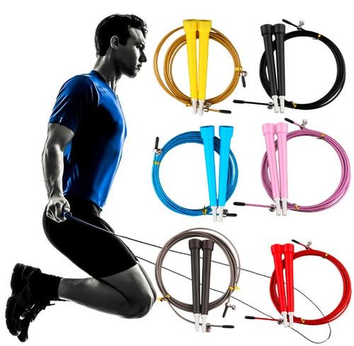 cuerda de saltar- crossfit, basquetbol, futbol y fitness