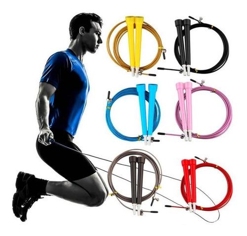 cuerda de saltar velocidad cardio y entrenamiento crossfit