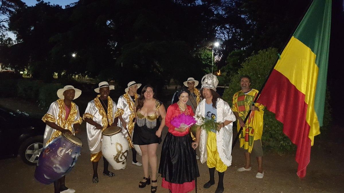Cuerda de tambores animaci n candombe para fiestas y - Albaniles en montevideo ...
