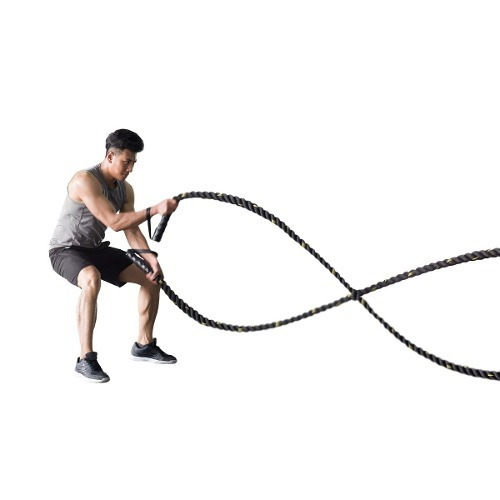 cuerda funcional - trepa   crossfit 40 mm x 10 mt 8 kg total