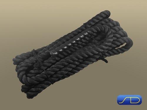 cuerda funcional - trepa   crossfit 50 mm x 15 mt - 16 kg t