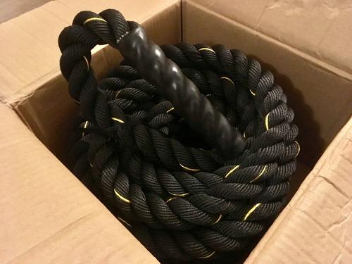 cuerda gruesa batalla battle rope crossfit funcional chile
