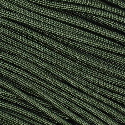 cuerda paracord 30 m - 100 pies / 550  olive green envio inc