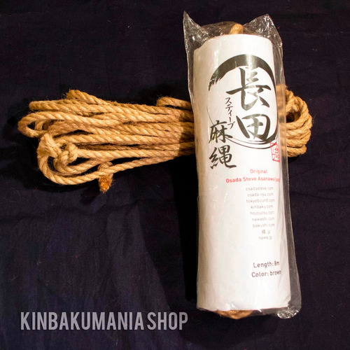 cuerda profesional yute p/ shibari origen japón osada steve