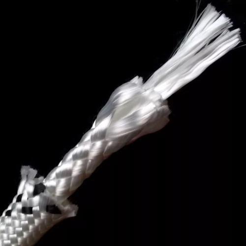 cuerda soga cabo 10.mm poliester fuerte resistente 1500.kg trenzado diamante resiste sol y lluvia