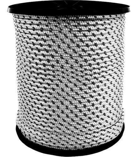 cuerda soga cabo 10.mm polipropileno fuerte - rollo x 100.m - material virgen de alta tenacidad trenzado diamante