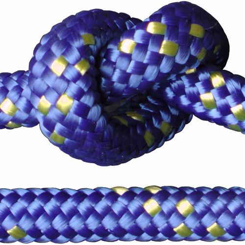 cuerda soga cabo 5.mm polipropileno fuerte - rollo x 100.m - material virgen alta tenacidad trenzado