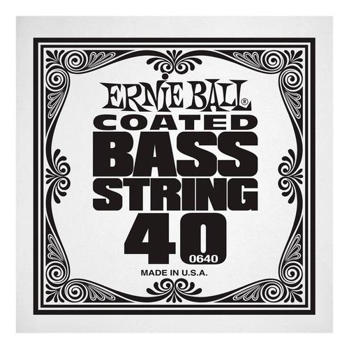 cuerda suelta de bajo ernie ball .040 coated rndwnd bass